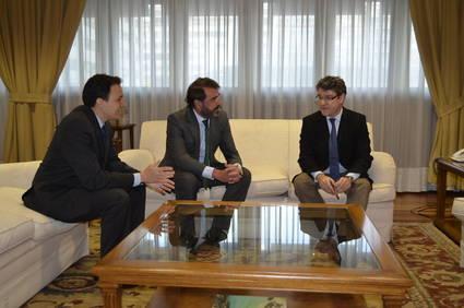Reunión de la Federación de Familias Numerosas con Álvaro Nadal  Ministro de Industria.